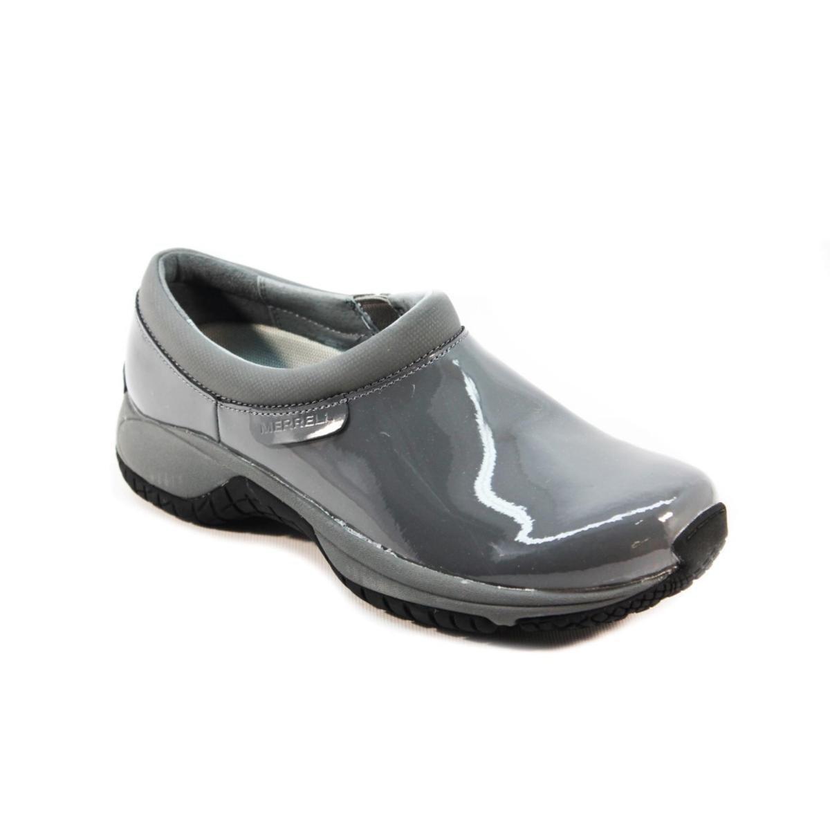 0df59649 Merrell SureGrip Womens Encore Moc SG Castle Rock Casual Work Shoes ...