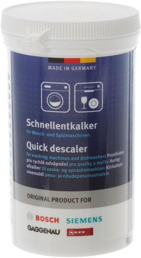 Bosch, Siemens, Neff, Gaggenau 00311919 - Descalcificador rápido para lavadoras y lavavajillas