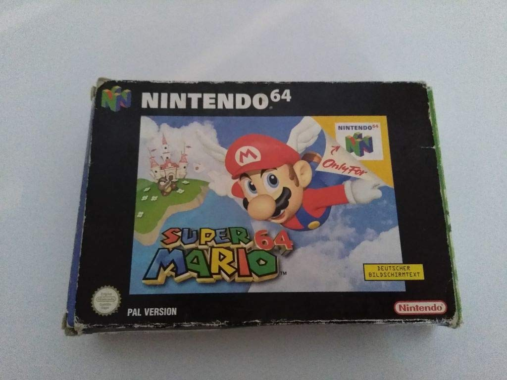 Amazon com: Super Mario 64: Video Games