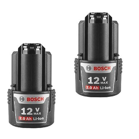 Amazon.com: Bosch bat414 (2 unidades de repuesto 12-Volt Max ...