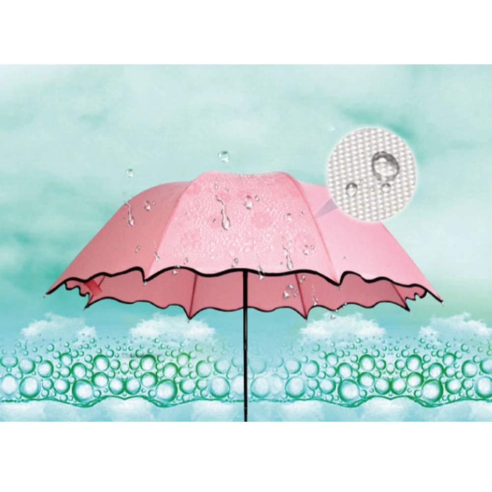xgfys Paraguas Que Cambia De Color Con El Agua, Sombrilla Creativa ...