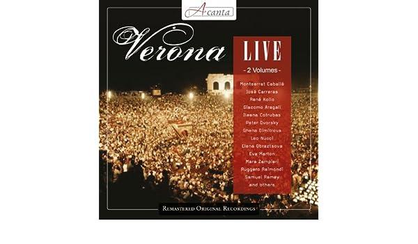 Verona Live de Various Artist Orquesta Sinfonica de Madrid en Amazon Music - Amazon.es