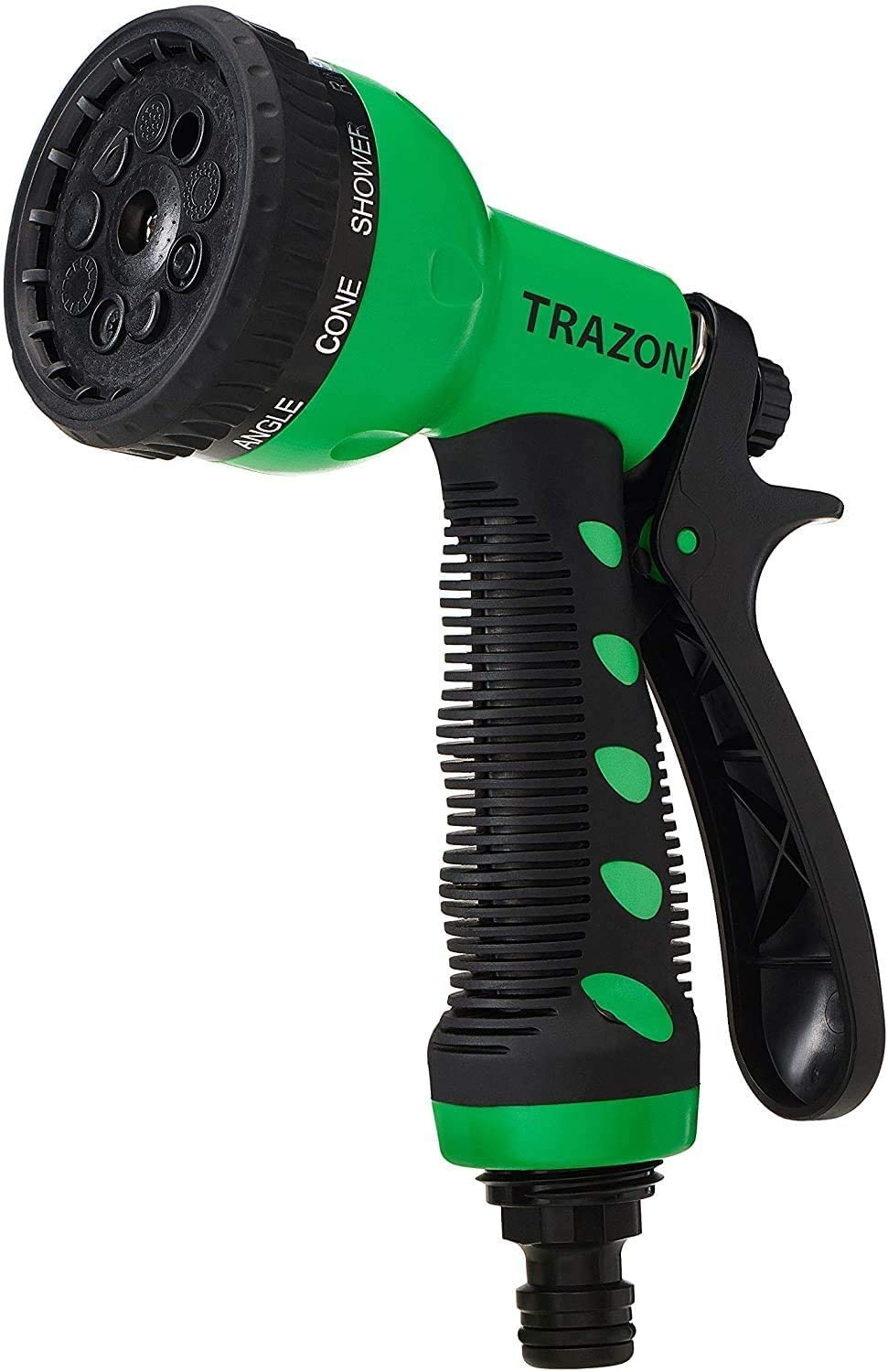 Garden Hose Nozzle Heavy Duty, High Pressure. Water Hose Nozzle Sprayer, Gun, Head. Spray Nozzle for Garden Hose, 9 Adjustable Watering Patterns, Nozzles for Garden, Lawn, Car Wash