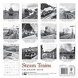 Steam Trains Heritage Wall Calendar 2018 (Art Calendar)