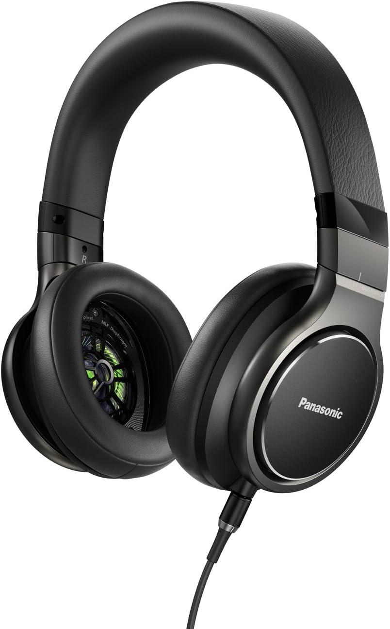 Panasonic Sealed dynamic stereo headphones high-resolution black corresponding RP-HD10-K