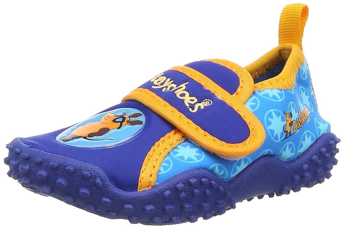 Playshoes DIE MAUS Jungen UV-Schutz Badeschuhe, Aqua Schuhe 174701