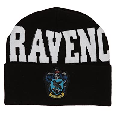 1f3ef8471b9ef Image Unavailable. Image not available for. Color  Harry Potter Ravenclaw  Beanie Cap ...