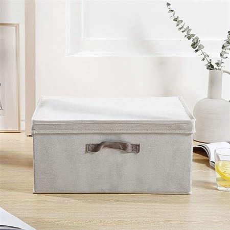 HUIQI Caja almacenaje Caja de Almacenamiento pequeña Ropa de Las ...
