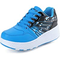 Chic Sources Boys Girls Two Wheels Roller Skate Shoes Kids Sports Sneaker