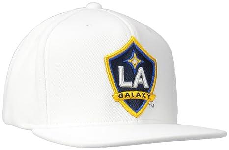 499b5a930c3da Amazon.com   MLS Los Angeles Galaxy Men s ZNE Flat Brim Snapback Cap ...