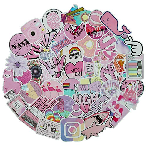 Different Stickers Flamingo Laptop Skateboard product image