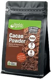 Absolute Organic Raw Cacao Powder, 450g