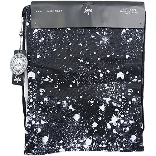 Hype Hype bag Draw (Speckle Crest) Black, Borsa a spalla uomo nero Speckle Crest Taglia unica