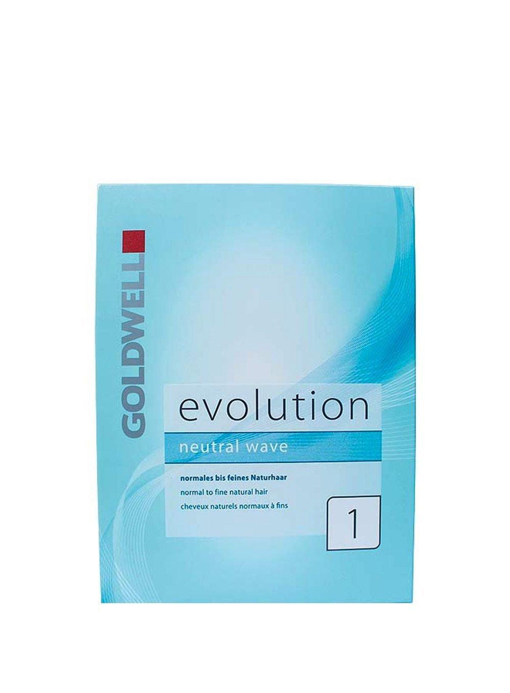 Goldwell 13270Evolution dauerwell Set 1normale a fini capelli, 1er Pack (1X 0.18L)