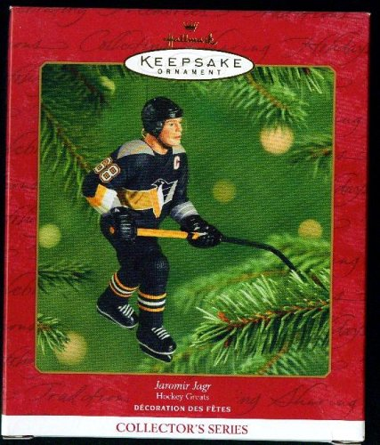Hallmark Keepsake Ornament Jaromir Jagr Hockey Greats (2001)