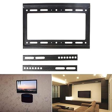 Amazon.com: Qisuw TV Mounts - Universal 20KG TV Wall Mount Bracket ...