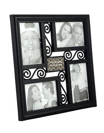 Homeline Marco de Fotos titulaires de Varios Pared (34 x 34 cm) PVC-