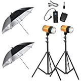 Neewer Photo Studio Lighting Kit 600W-(2)300W Smart C-300/