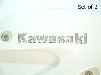 Ganz Neue 100/% Original Kawasaki Mark Aufkleber Schwarz 153mm X 23mm