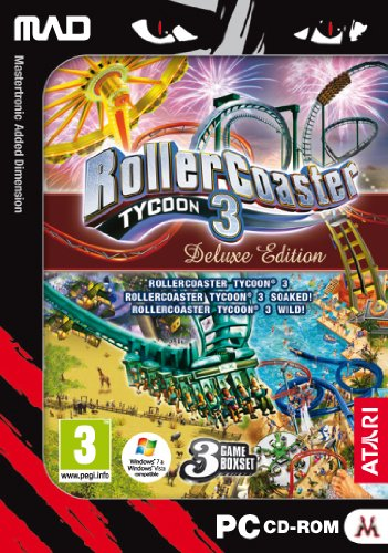 RollerCoaster Tycoon 3 - Deluxe Edition Pc Roller Coaster Tycoon 3