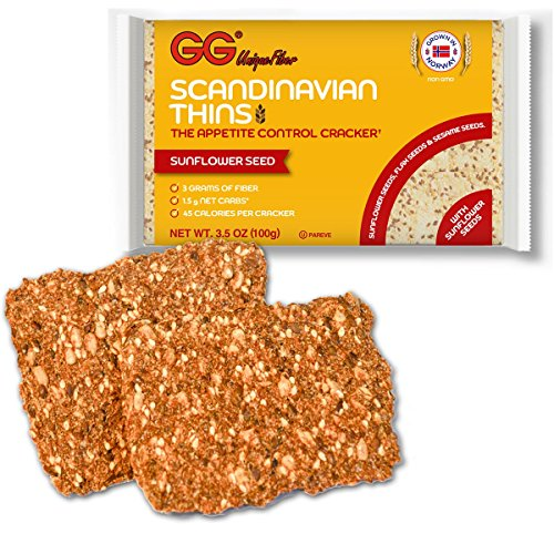 Gg Scandinavian Thins With Sunflower Seeds 3.5 oz (Pack of 5)