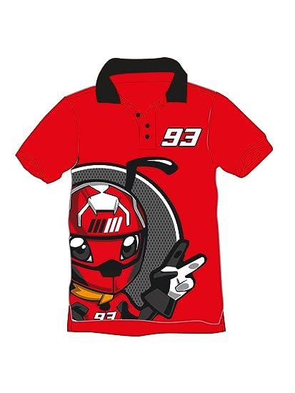 Marc Marquez 93 MotoGP - Polo infantil, Niños, rojo, 2-3 años
