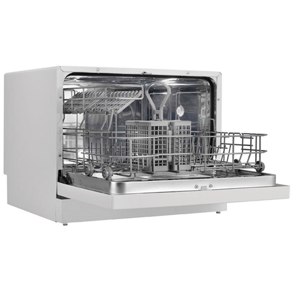Miniature Dishwasher Danby Ddw611wled Countertop Dishwasher White Amazonca Home