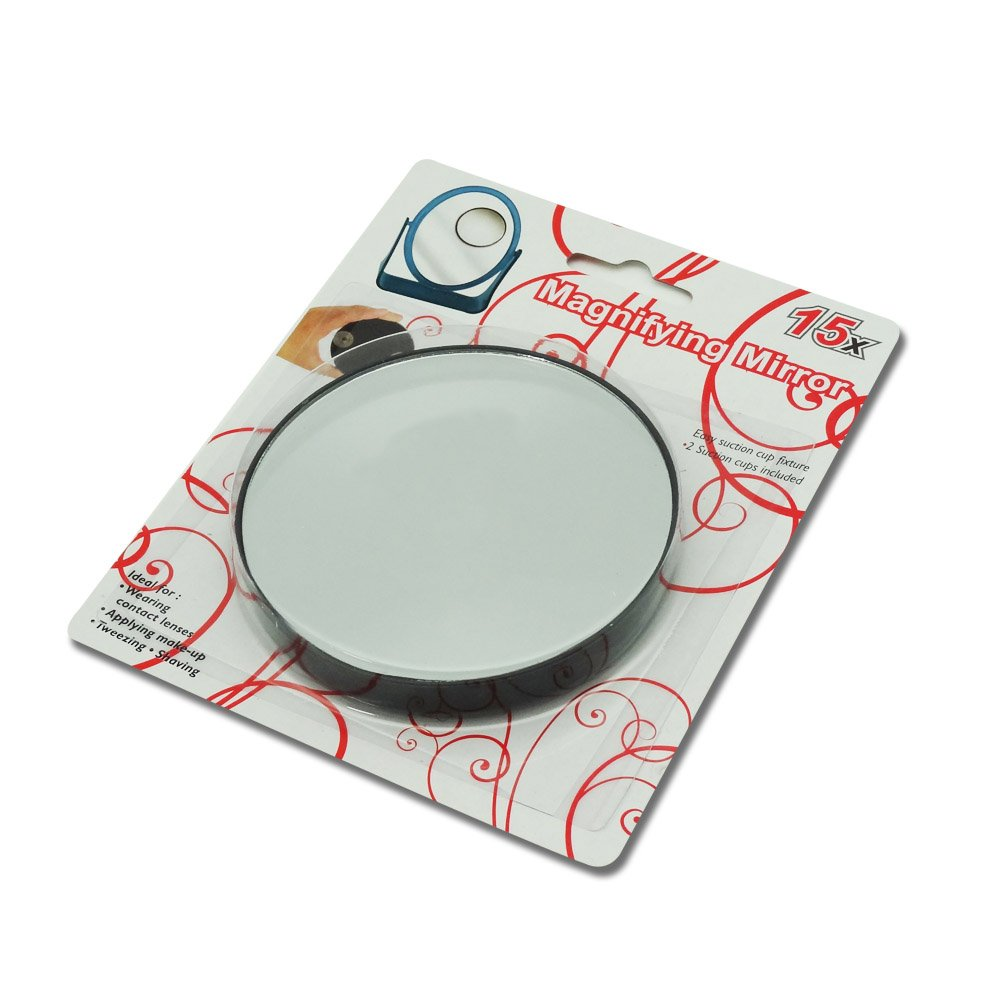 Amazoncom 15x Magnifying Mirror With Suction Cup Fixture