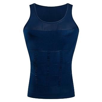 BaronHong Gynäkomastie Kompression Shirt Weste zu verstecken Mann Boobs Moobs Abnehmen Männer Shapewear Flatten Ganze Abdomen