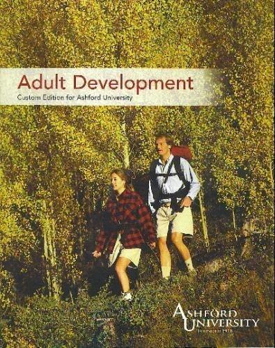 Download Adult Development (Adult Development: Custom Edition for Ashford University) ebook