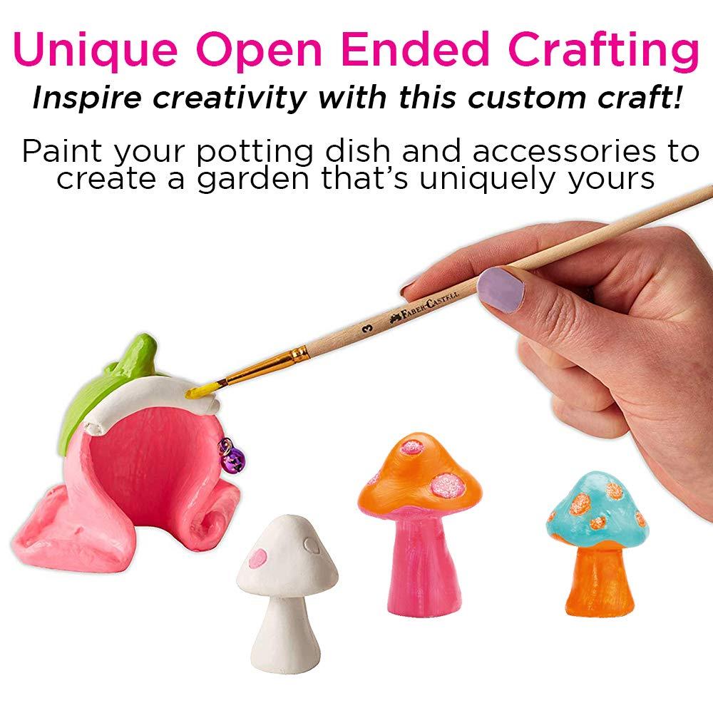 Amazon.com: Creativity for Kids Enchanted Fairy Garden Craft Kit ...