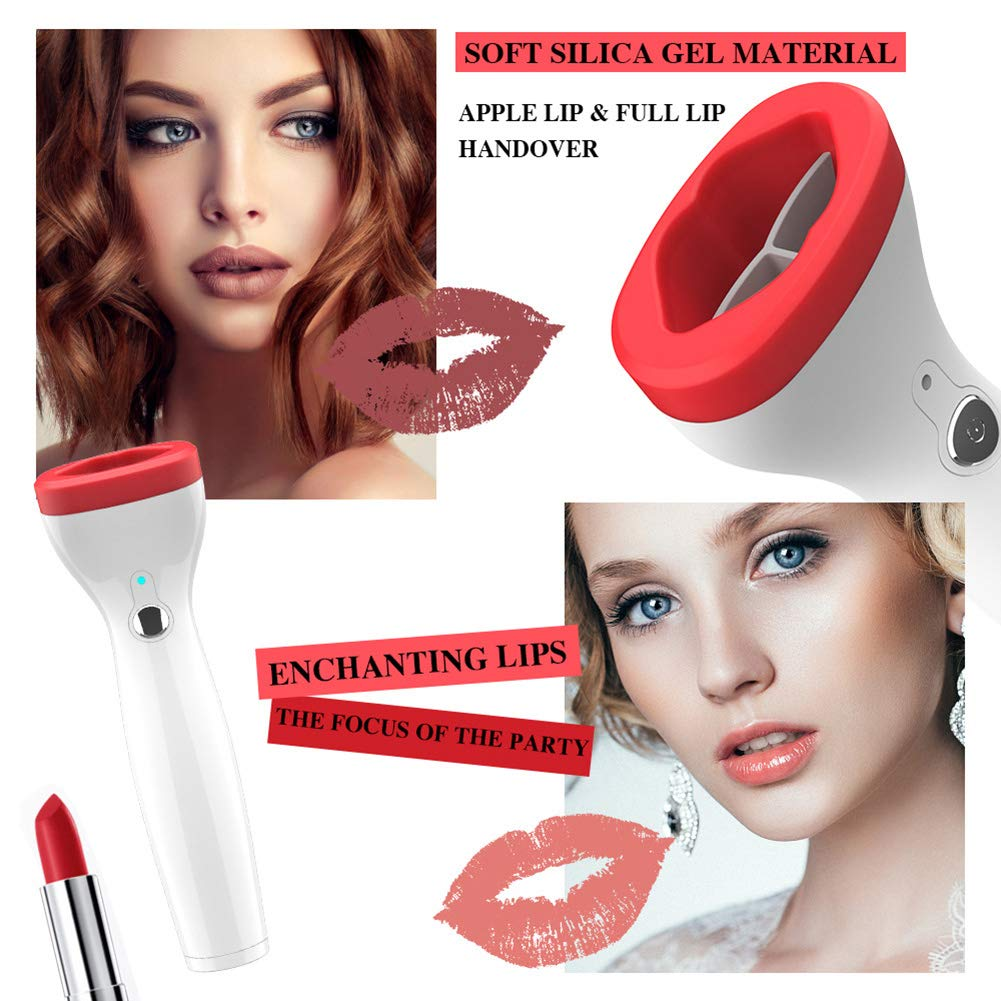 FDCJKV Automatic Lip Plumper Electric Lip Enhancer 3 Levels Power Intelligent Deflated Designed Lip Plumpering Device
