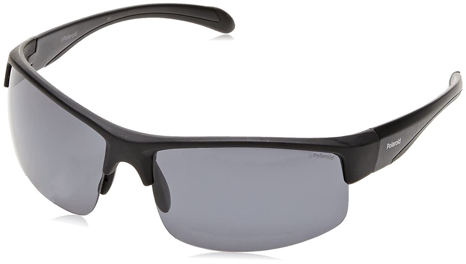 Amazon.com: POLAROID SUNGLASSES PLS 7019 S 807 M9 BLACK ...