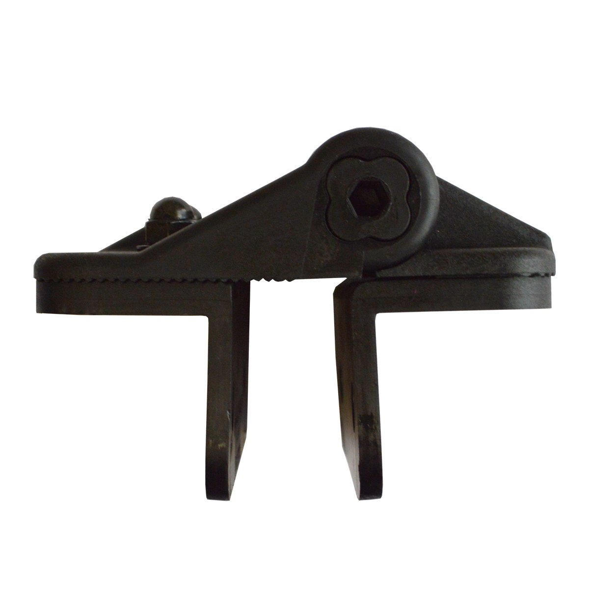 Fasteners Included Cornerstone Black Nylon Polymer Medium Size Multi Adjustable Hinges 2 Hinges Included CH200F-SD-BK