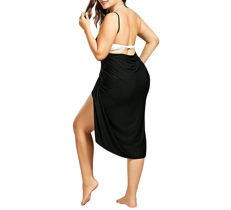 Cover Up Wrap Dress Bikini Swimsuit Bathing Suit Cover Ups Robe Beach Wear Large Size Swimwear