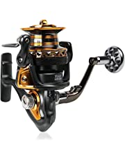Sougayilang Fishing Reel Spinning Big Spool 13+1BB FDD 4000-7000 Series Long Shot Saltwater Surfcasting Fishing Reels
