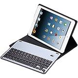iPad Keyboard Case for iPad Pro 9.7/iPad 2017/iPad 6th Generation/iPad Air 1/iPad Air2,Ottertooth Wireless Bluetooth Keyboard, Magnetic Charging,Ultra Lightweight Auto Sleep/Wake Smartcover