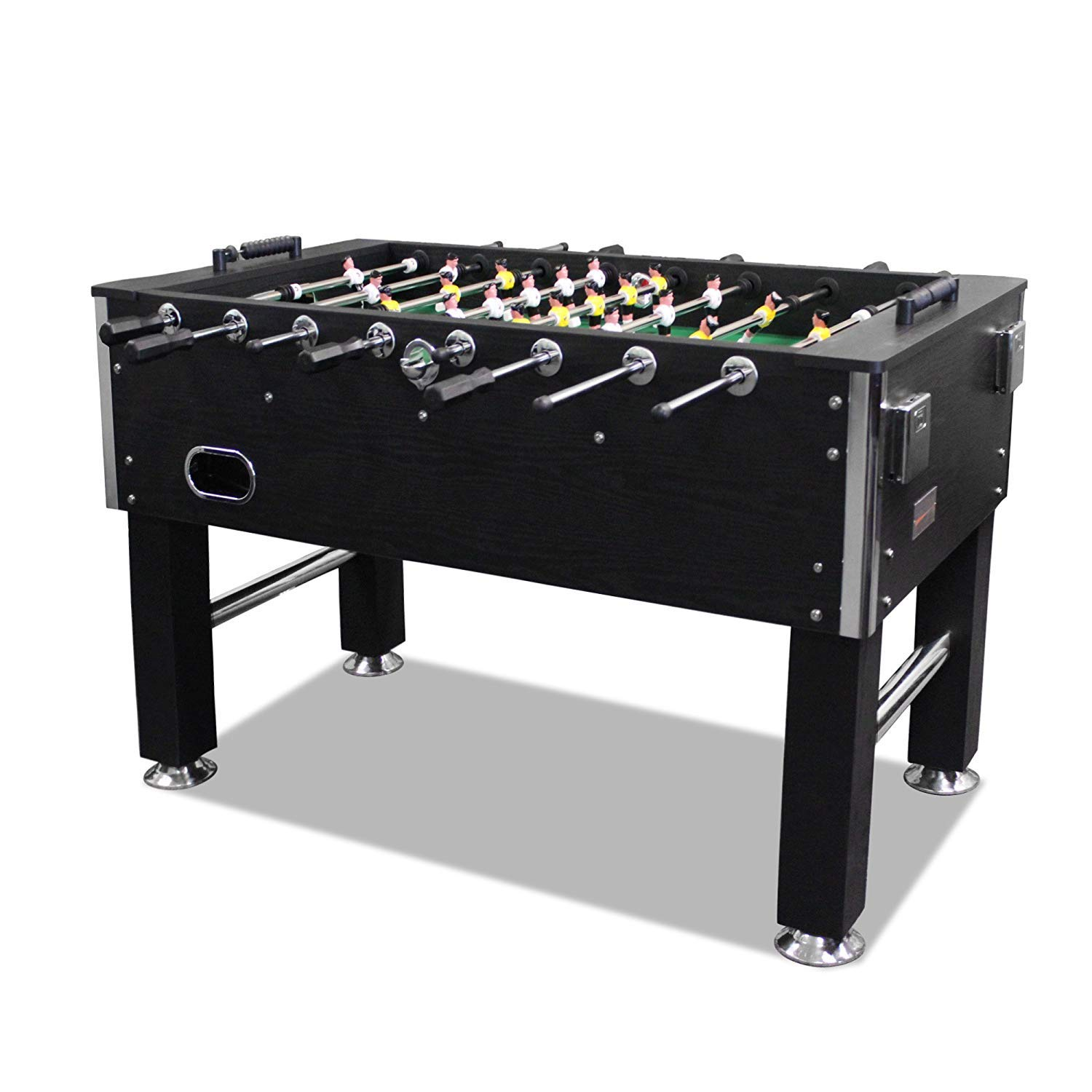 60'' Foosball Table Heavy Duty with Drink Holder by Unknown