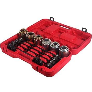 RANZIX - Juego de herramientas para extraer rodamientos de ruedas (26 piezas): Amazon.es: Bricolaje y herramientas