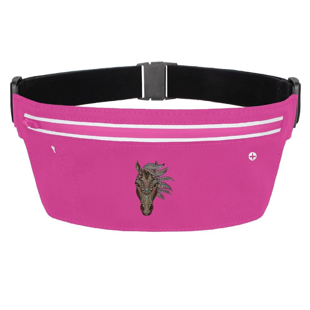 on sale Running Belt Waist Pack Glass Process With Adjustable Elastic Strap For Women