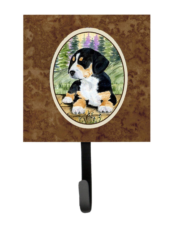 Multicolor Carolines Treasures SS8132SH4 Entlebucher Mountain Dog Leash Holder or Key Hook Small