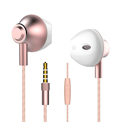 Amazon Personalized Rose Gold Earbudslangsdom F9 Headphones