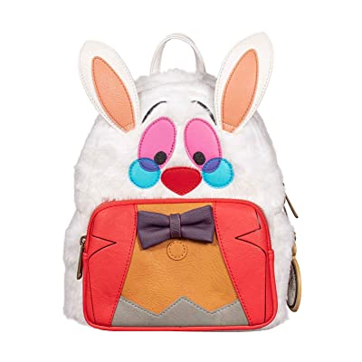 Loungefly Alice in Wonderland White Rabbit Mini Backpack Standard | Backpacks