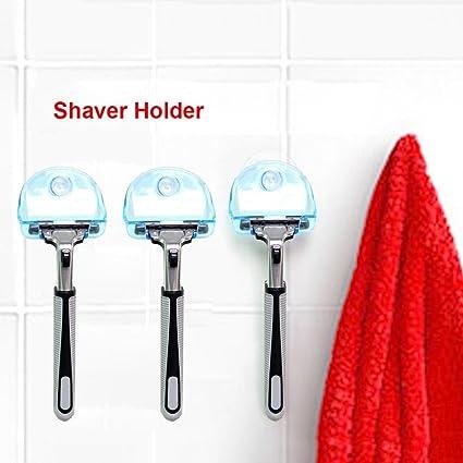 Pandaie Shaver Toothbrush Holder Washroom Wall Sucker Suction Cup Hook  Razor Bathroom c3bfff6357