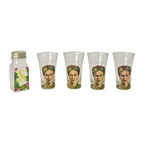 Frida Kahlo Tequila Slammer Set: Amazon.es: Hogar