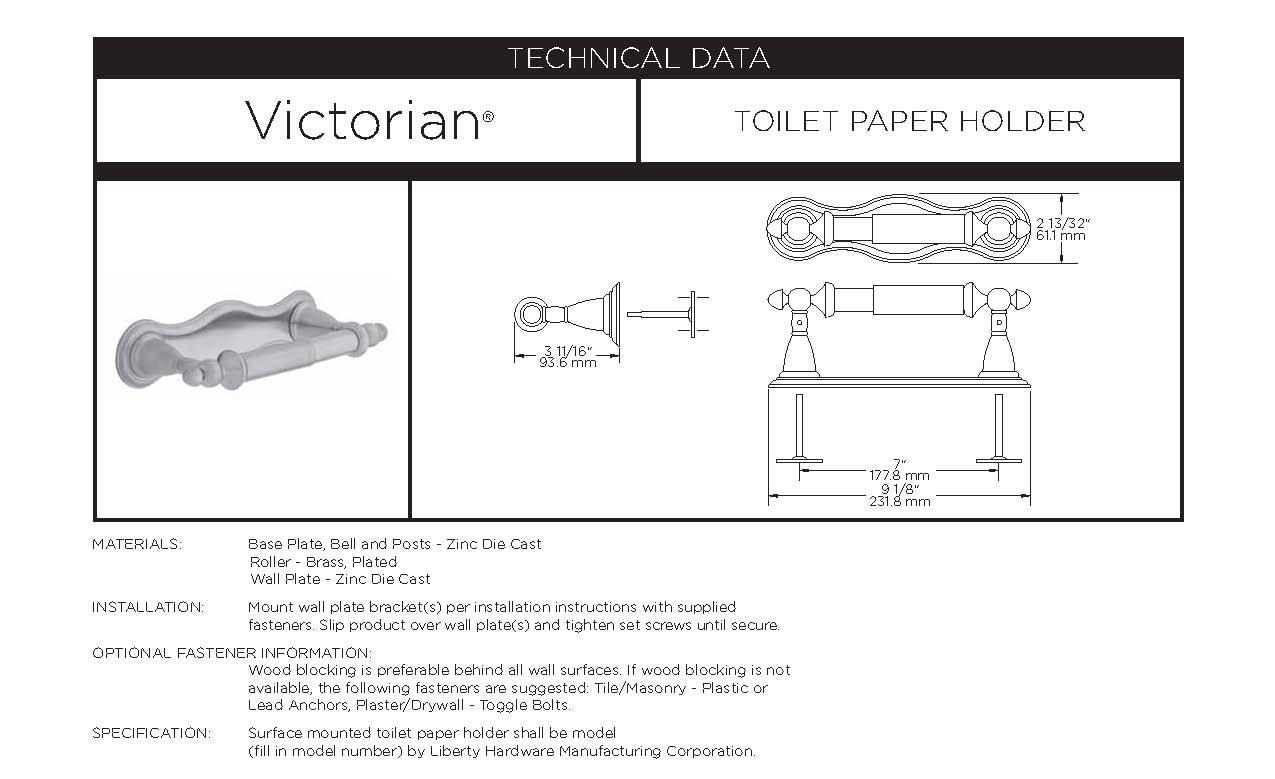 Commercial Toilet Paper Holders DELTA Victorian Bath Hardware ...