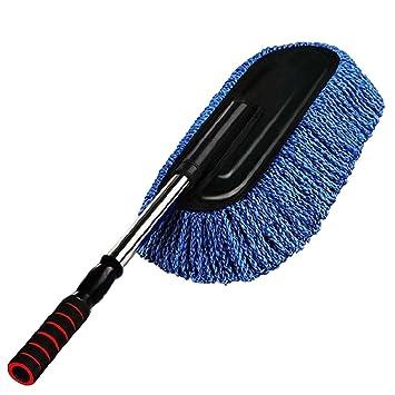 sharplace Auto Duster telescópico BGE retráctil mano mango microfibra Auto Cera tirar entfernbare Auto de lavado cepillo Auto de Mop rayas polvo, ...