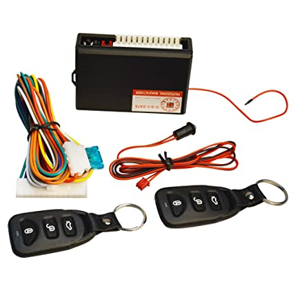 Electric Vehicle Parts Professional Sale Central Keyless Door Lock Central Locking System With Car Remote Control Alarm Systems Remote Control Central Kit Locking Switch