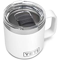 YETI Rambler 10 oz Stackable Mug, Vacuum Insulated, Stainless Steel with MagSlider Lid