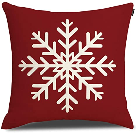 Amazon.com: Fundas de almohada para el día de Navidad, feliz ...